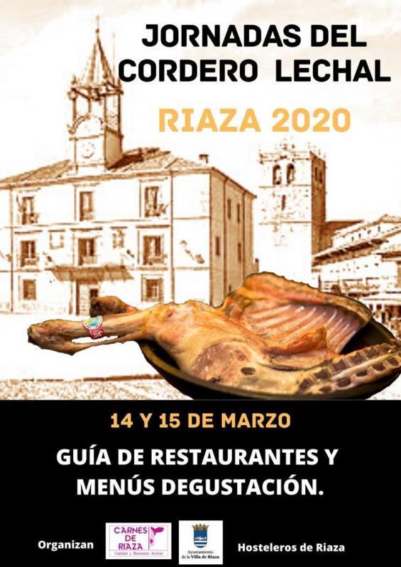 Jornadas cordero lechal 14 y 15 marzo 2020